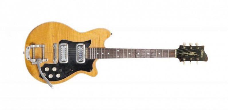 Гитару Джорджа Харрисона выставили на торги за $518 тыс