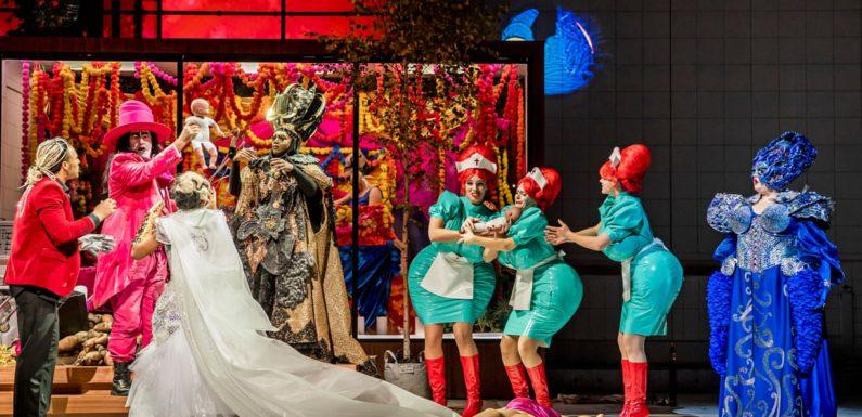Утомительная «Маска Орфея» в Английской национальной опере
